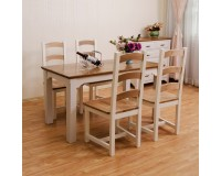 French Rustic 7 Pieces Dining Set ON SALE!!