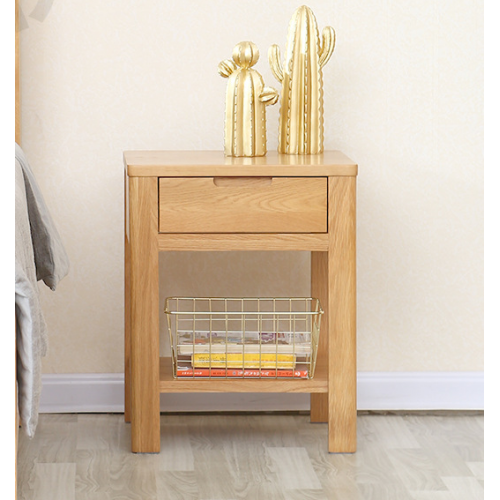 Navia Natural Solid Oak Lamp Table or Bedside Table (New Arrival!!!)