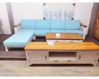 French Style L Shape  4 Seat Lounge Suits