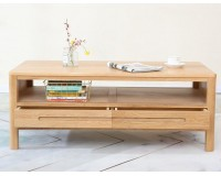 Navia Natural Solid Oak Coffee table (New Arrival!)
