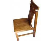American  White Oak Wooden Dining Chair